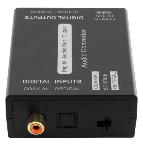 DIGITAL AUDIO DAUL POWERED SELECTOR