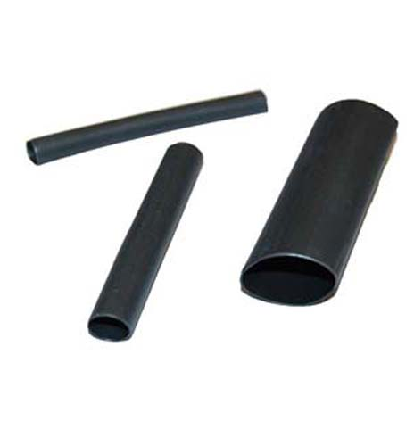 HEAT SHRINK BLACK SMALL, MEDIUM & LARGE