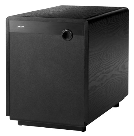 JAMO BLACK SUBWOOFER 10 INCH WITH VOLUME ON FRONT