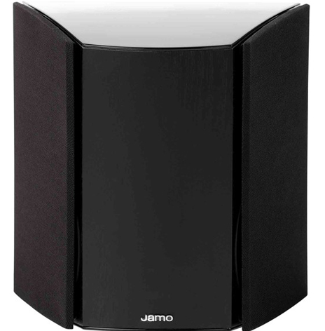 JAMO C80 DIPOLE BLACK SURROUND SPEAKER WITH COVERS