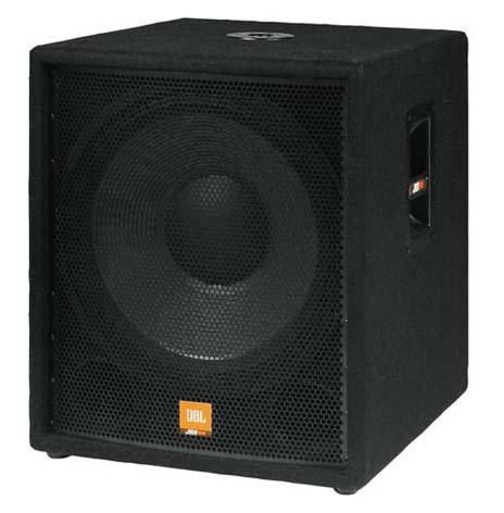 JBL PARTY SUBWOOFER 12 INCH SIDE VIEW