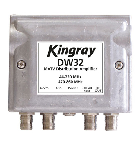 KINGRAY DISTRIBUTION AMP DW32
