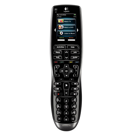 LOGITECH HARMONY-900 REMOTE FRONT